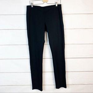 Eileen Fisher Black System Stretch Ponte Slim Pant